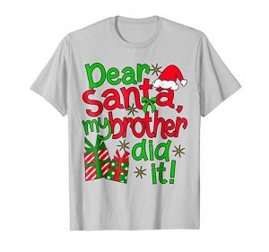 Dear Santa, my brother did it